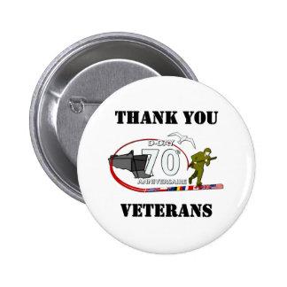 Merci vétérans - Thank you veterans Badges
