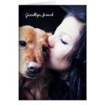 Merci vétérinaire pour des animaux familiers de po carte