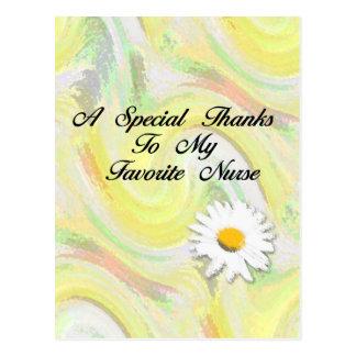 Mercis spéciaux à mon infirmière préférée cartes postales
