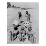 Merdes dans le sable, les années 1940 affiche