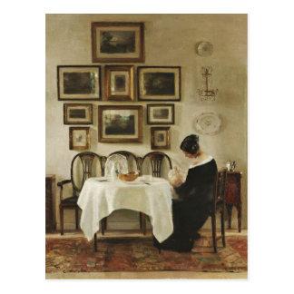 Mère de Karl Holsøe et carte postale de l'enfant