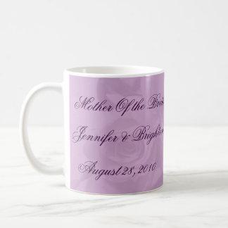 """Mère de la jeune mariée - """"beaux roses de lavande mug"""