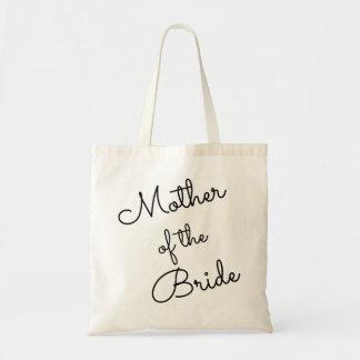 Mère de la jeune mariée Fourre-tout, cursive Tote Bag