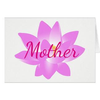 Mère de Merci Carte De Vœux