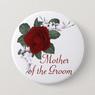 Mère de rose rouge de KRW du marié épousant le Pin Pin's