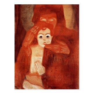 Mère d'Egon Schiele- et enfant (Madonna) Cartes Postales
