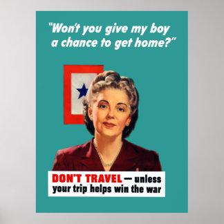 Mère d'étoile bleue posters