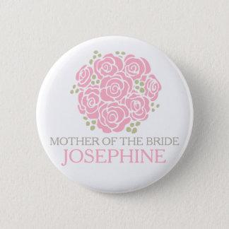 Mère du bouton de goupille de mariage de petit badges