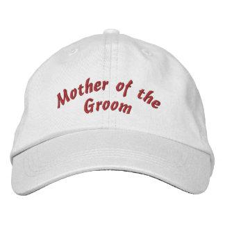 Mère du casquette brodé par marié casquette brodée