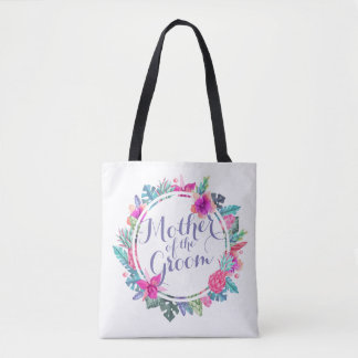 Mère du sac fourre-tout tropical à mariage de
