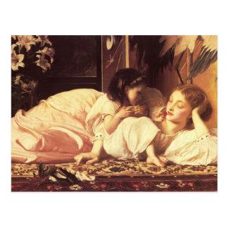 Mère et enfant cartes postales