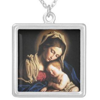 Mère et enfant colliers personnalisés