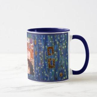 Mère et enfant par Klimt Mug