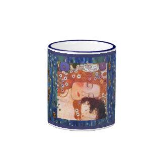Mère et enfant par Klimt Mug Ringer