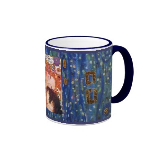 Mère et enfant par Klimt Tasse À Café