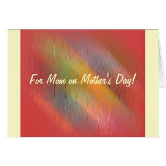 Mère futée carte de vœux