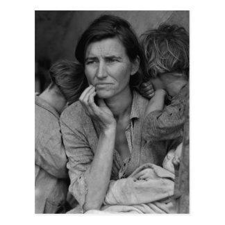 Mère migratrice Florence Thompson de Dorothea Cartes Postales