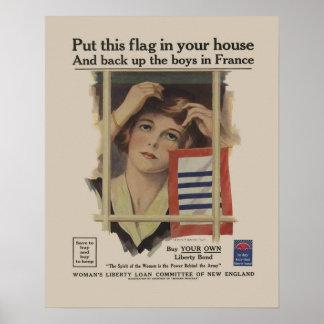 Mère militaire 2ÈME GUERRE MONDIALE de lien Posters