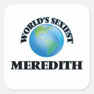 Meredith le plus sexy du monde stickers carrés