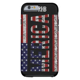 MERICA - Drapeau américain des Etats-Unis d'argot Coque Tough iPhone 6
