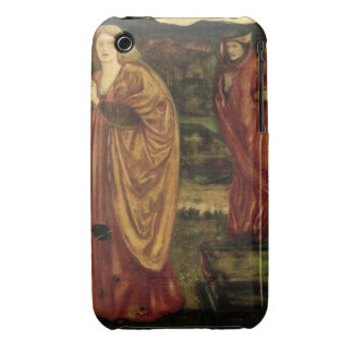 "MERLIN et Nimue de ""d'Arthur de Morte"", 1861 Coque iPhone 3 Case-Mate"