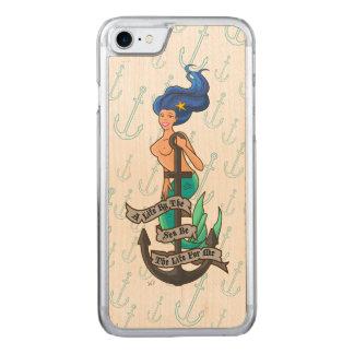 mermaid_msblue_slimwood coque iphone 7 en bois