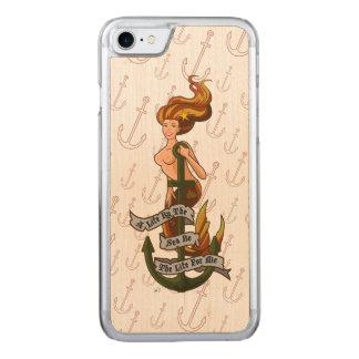 mermaid_msorange_slimwood coque carved pour iPhone 7