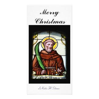 Merry Christmas carte de photo Carte Avec Photo
