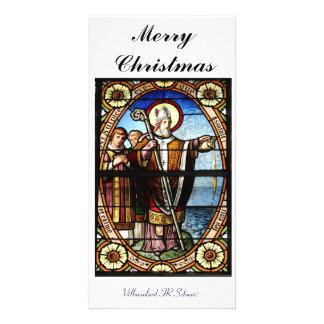 Merry Christmas carte de photo Photocartes