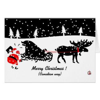Merry Christmas Carte De Vœux