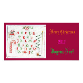 Merry Noël Photocarte