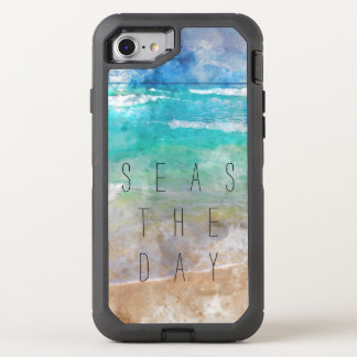 Mers la scène de plage de jour coque OtterBox defender iPhone 8/7