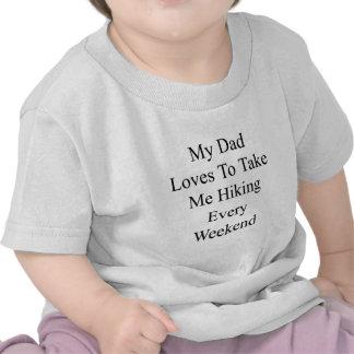 Mes amours de papa pour me prendre augmentant t-shirt