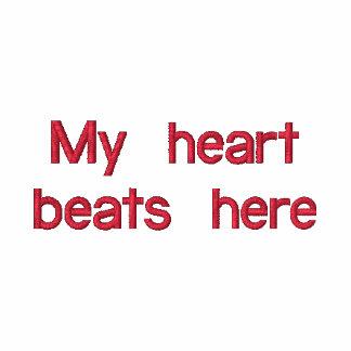 Mes battements de coeur ici