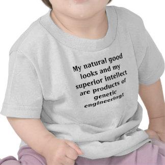 Mes bons regards naturels et mon intellect t-shirt