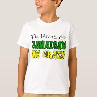 Mes parents jamaïcains je fou t-shirt
