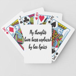 mes pensées jeu de cartes