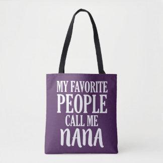 Mes personnes préférées m'appellent sac de