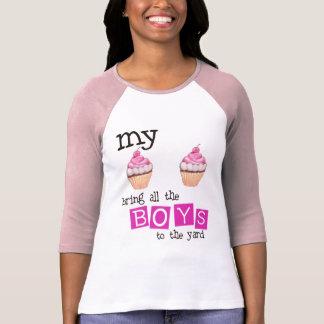 Mes petits gâteaux amènent tous les garçons à la t-shirt