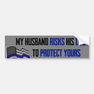 Mes risques de mari son adhésif pour pare-chocs de autocollant de voiture