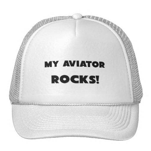 MES ROCHES d'aviateur ! Casquette