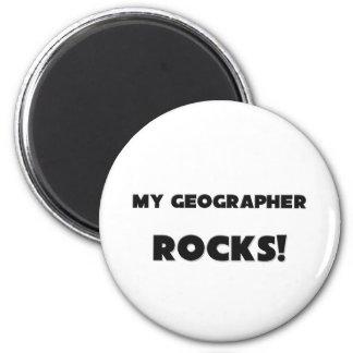 MES ROCHES de géographe ! Magnets