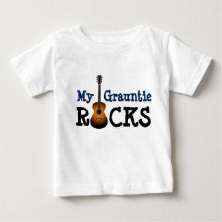"""""""Mes roches de Grauntie ! """" T-shirt Pour Bébé"""