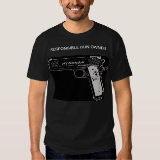 mes samouraïs t-shirts