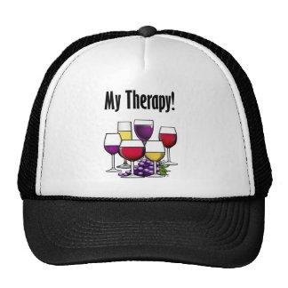 Mes verres de thérapie casquettes de camionneur