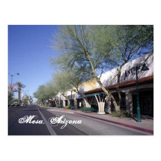 MESA, carte postale pittoresque de l'Arizona