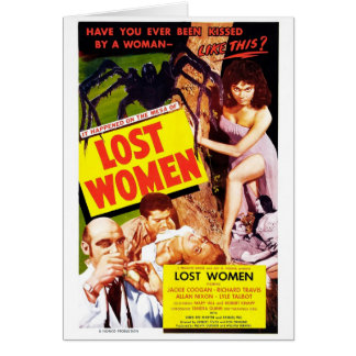 MESA de carte perdue de femmes