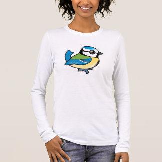 Mésange bleue de Birdorable T-shirt À Manches Longues