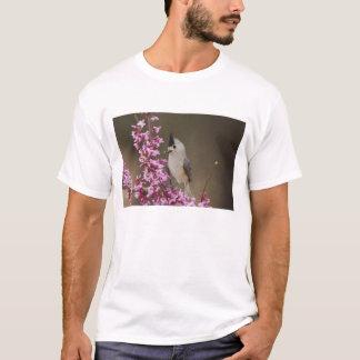 mésange Noir-crêtée, Baeolophus T-shirt