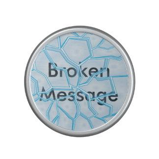 Message cassé